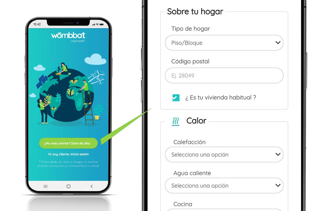 Pantalla Alta App